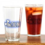 radium_logo_drinking_glass