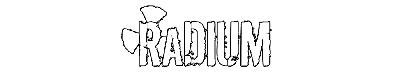 Website for the SoCal modern rock resurgence, RaDIUM.